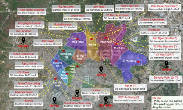 Tổng quan về thị trường căn hộ quận 12 năm 2020